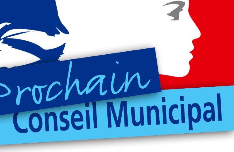 Prochain conseil municipal