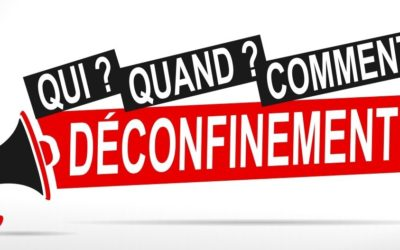 MODALITES DE SORTIE DE CONFINEMENT