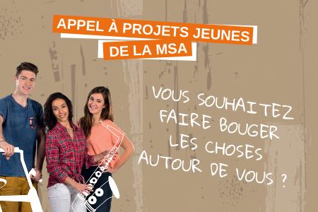 LA MSA Ardèche Drôme Loire renouvelle son Appel à Projets Jeunes en 2021